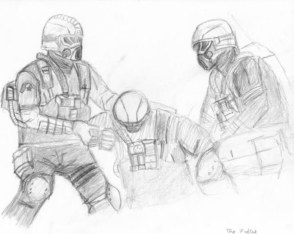 Black ops from rfom by martensit on deviantart for Black ops coloring pages