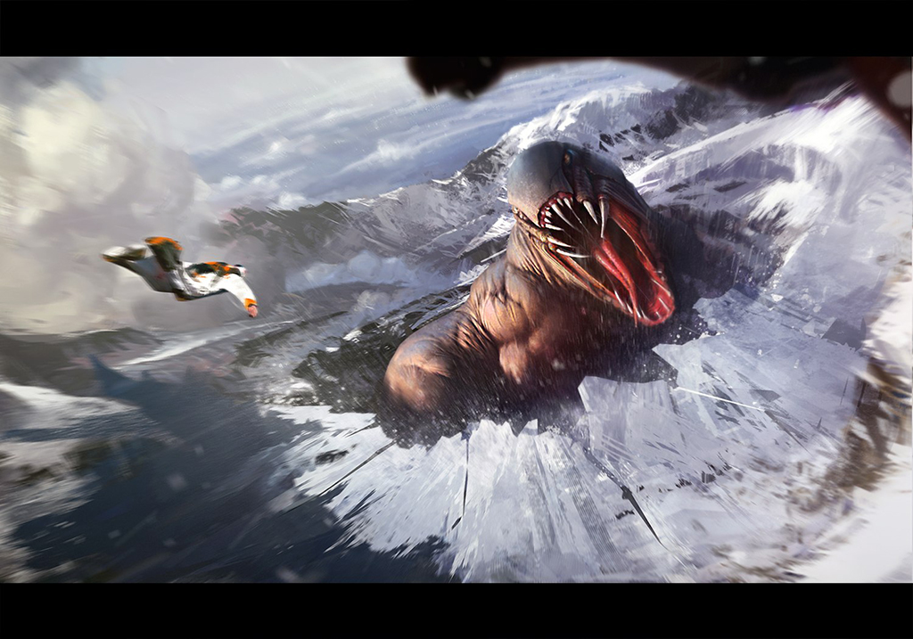 Such a dangerous wingsuit flying