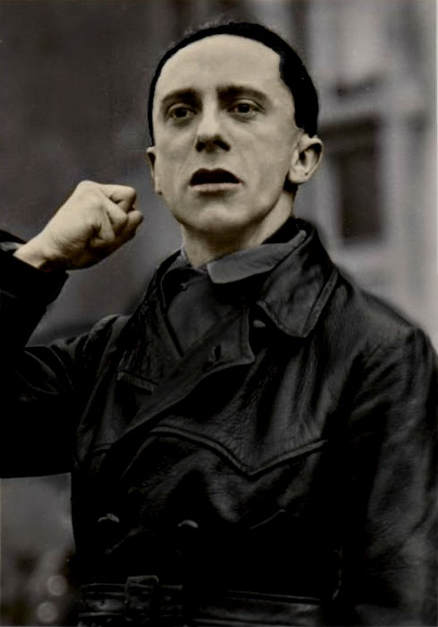 Joseph Paul Goebbels. (in colour) 4 by Julia-Koterias on ...