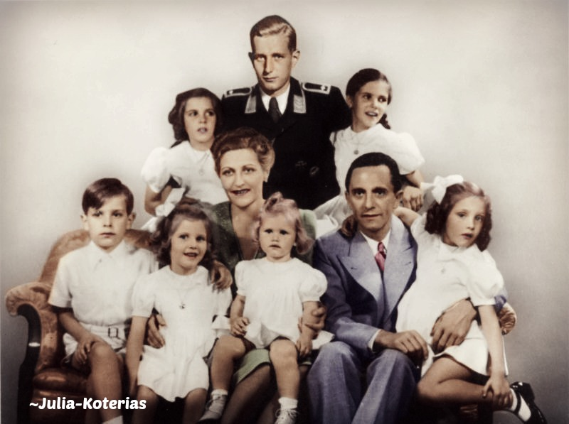Joseph Paul Goebbels. (in colour) 19 by Julia-Koterias on ...