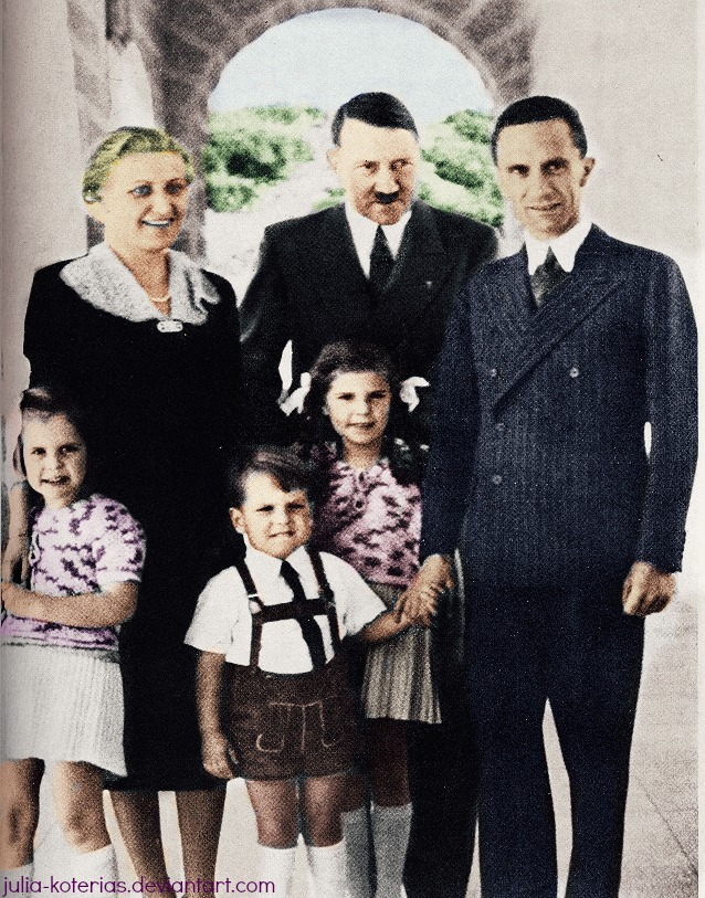 Joseph Paul Goebbels. (in colour) 23 by Julia-Koterias on ...
