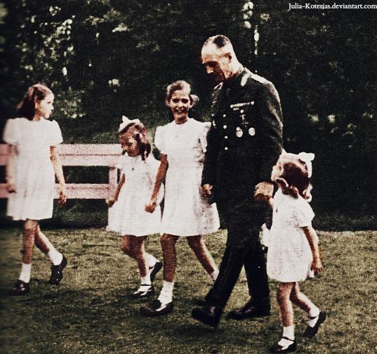 Erwin Rommel with Goebbels's children (25) by Julia-Koterias