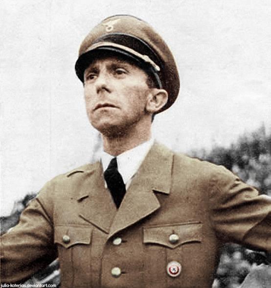 Joseph Paul Goebbels (in colour) 31 by Julia-Koterias