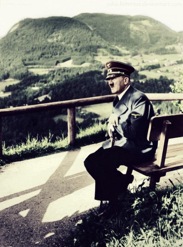 Adolf Hitler (in colour) 12 by Julia-Koterias