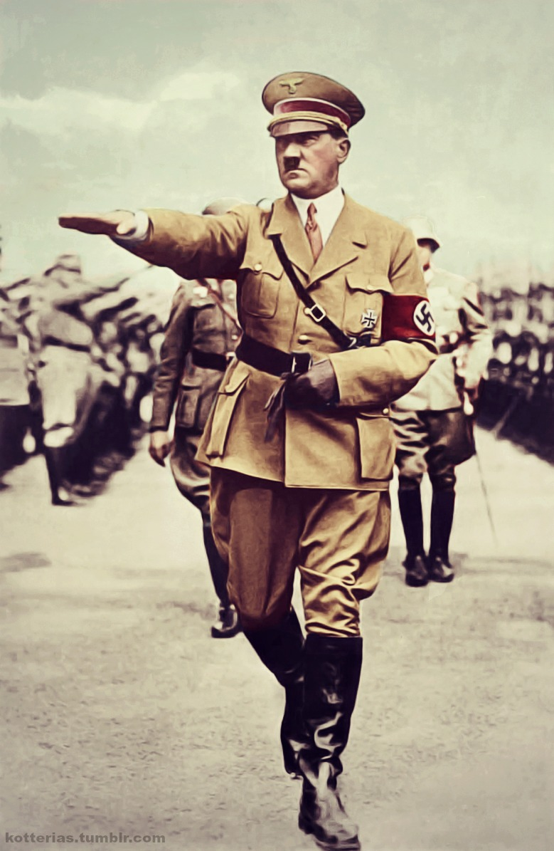 a biography of adolf hitler the leader of nazi germany What were the good qualities adolf hitler possessed as a political leader is adolf reichsautobahn bridging the two parts of nazi germany  wikipedia 12k.