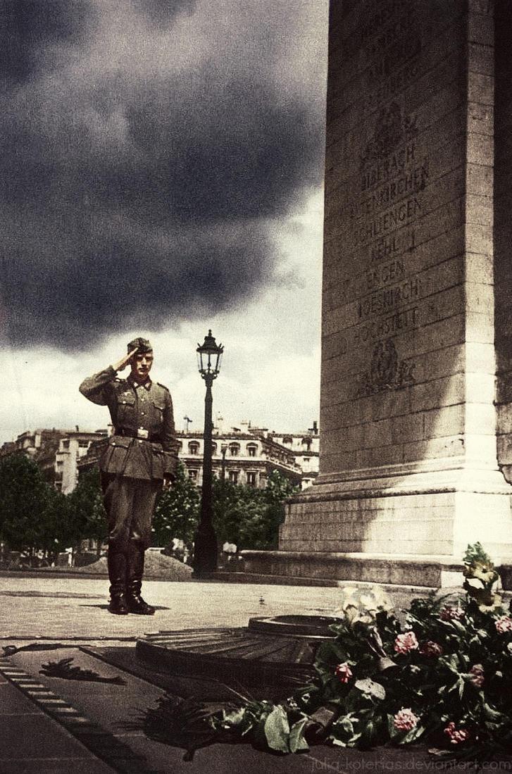 German soldier 2 by Julia-Koterias