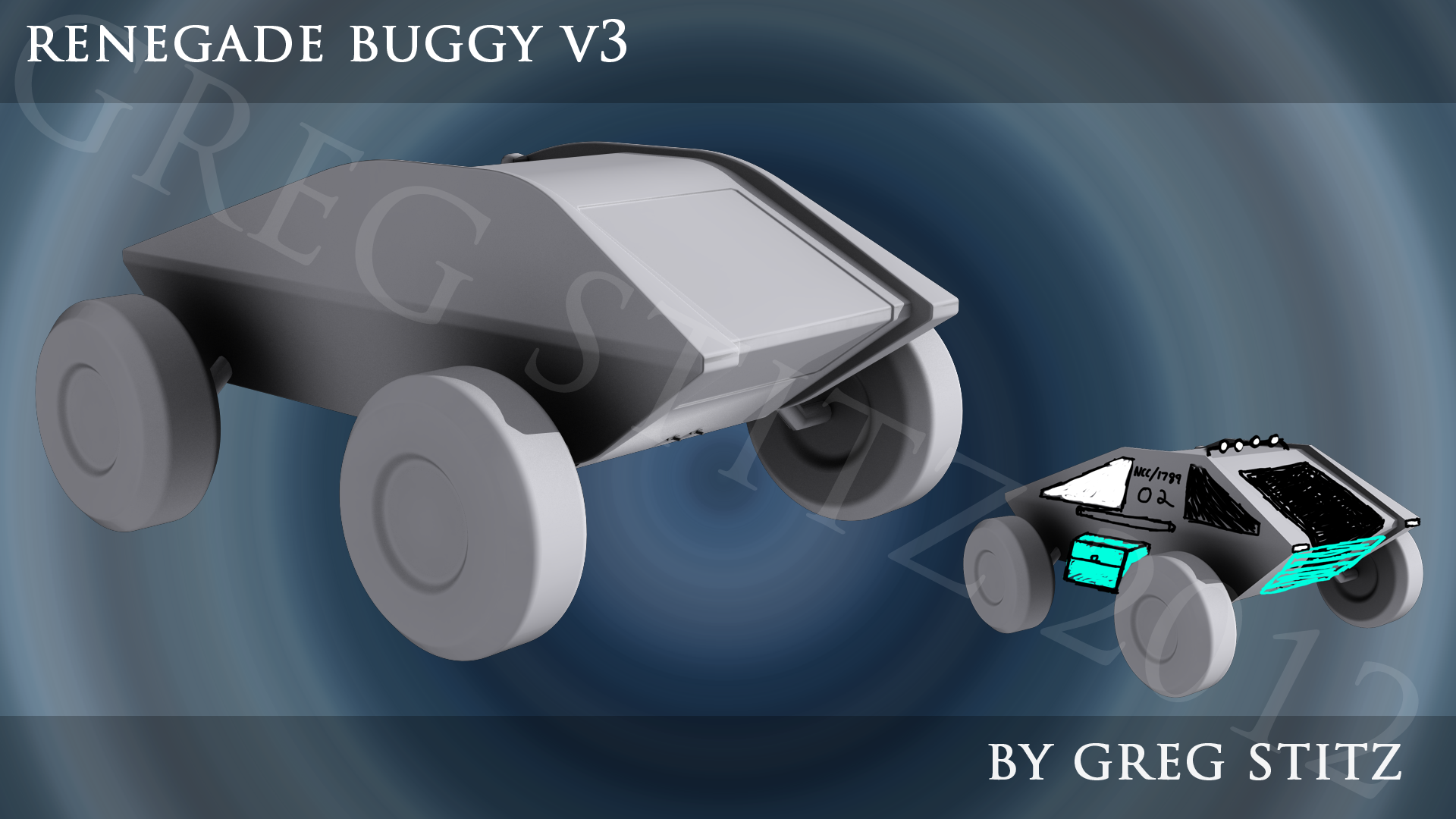 V3 Renegade Buggy 001 by GregStitz