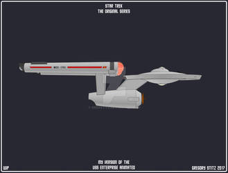 Enterprise Cartoon 001 WIP by GregStitz