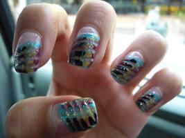 Creative Drag Nails by THJumbie