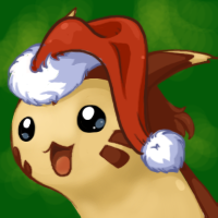 Furret with Santa's hat. by Bestary