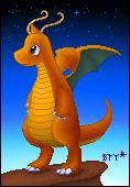 Pixel-Dragonite by Bestary