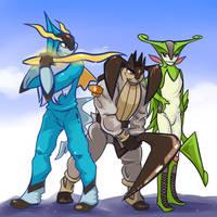 Gen5 legendary trio by Bestary