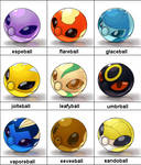 New Pokeballs Collection 2