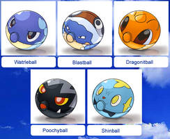 New Pokeballs Collection 3 by Bestary