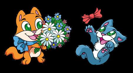 Funny kittens by Bestary