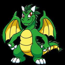 Green Dragon by Bestary