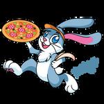 Pizza rabbit
