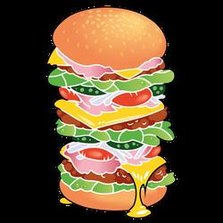 So biiiiiig sandwich by Bestary