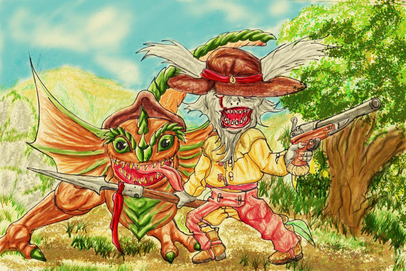 Kled chinaco by cagatintas