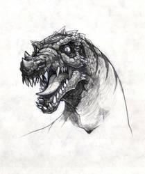Dino sketch by Noil-1