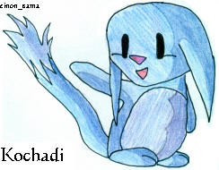 Kochadi the Kacheek by Sepseriis