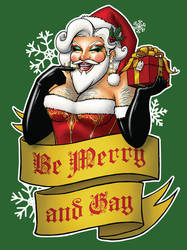 Santa Claus the Bearded Queen