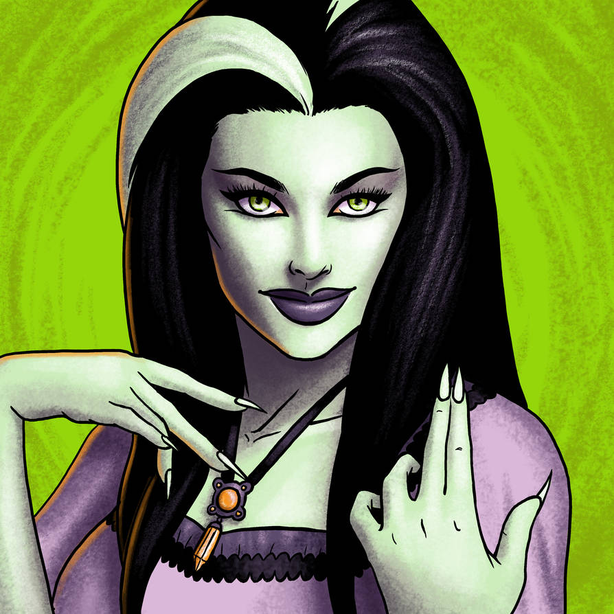 Lily Munster by bredenius