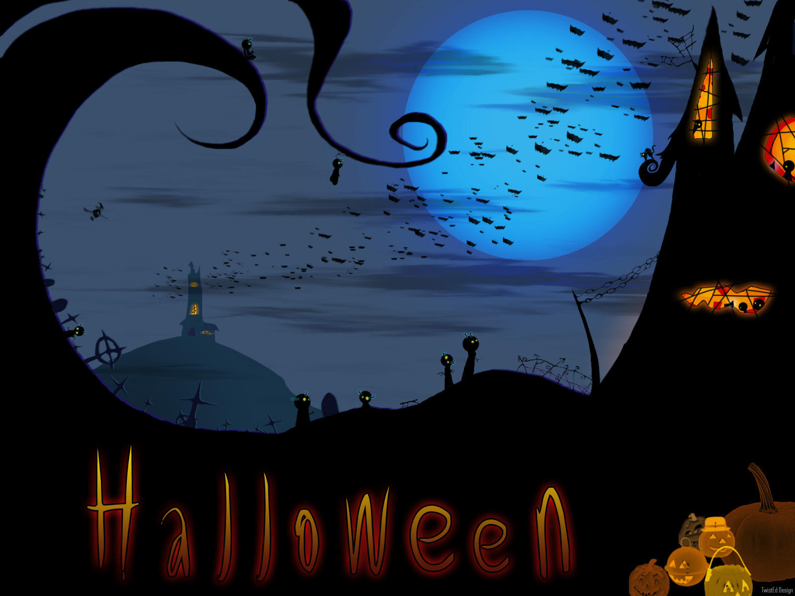 Halloween wp by twisted ky0 on deviantart - Imagenes de halloween ...