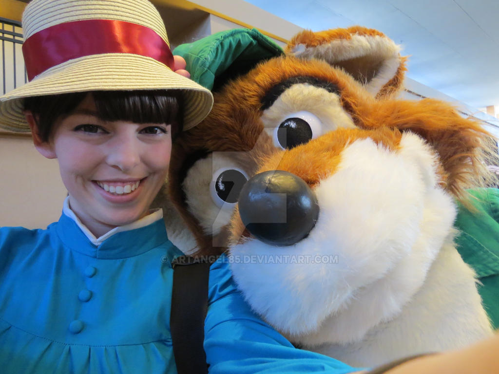 Selfie with Robin Hood! by artangel85