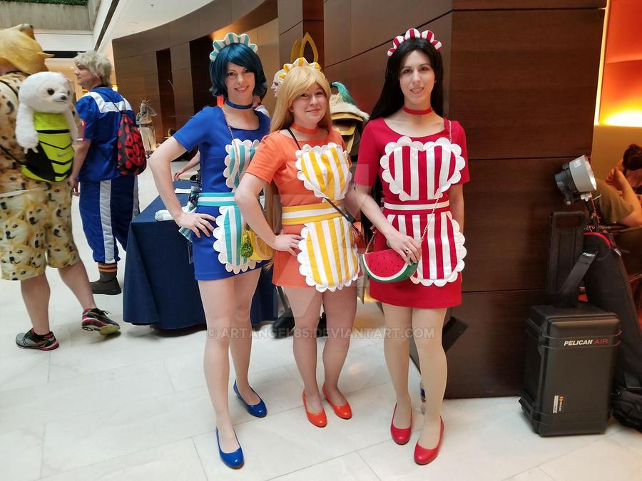 Fruit Maids at Acen2018 by artangel85