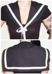Black sailor collar
