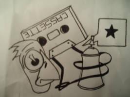 Sketch for my Truckercap by eat-milk