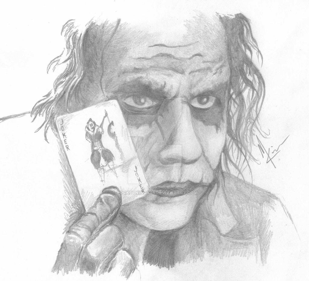The Joker Pencil by PocketNinja85 on DeviantArt