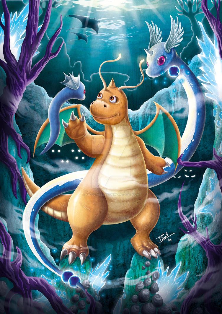 Dragon Dance by KidScribbles