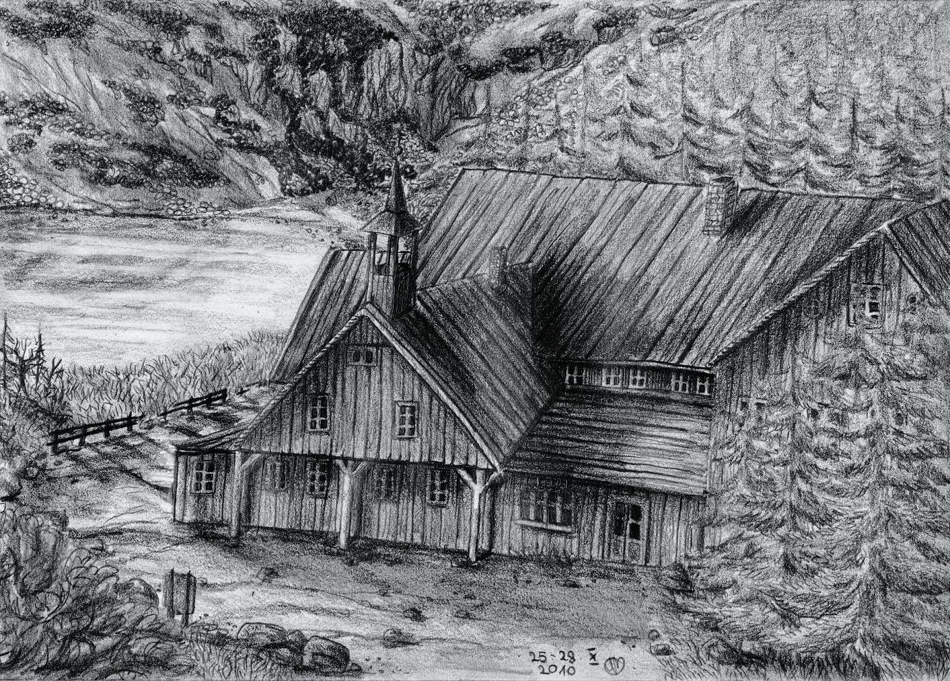 Mountain hut Samotnia by Ari-chaan on DeviantArt