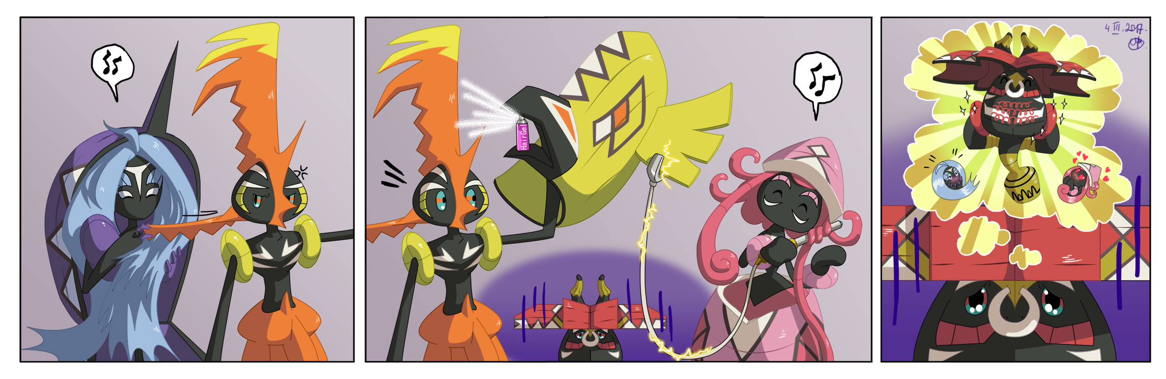Tapus Problems 1 Tapu Bulu Has No Hair By Ari chaan On