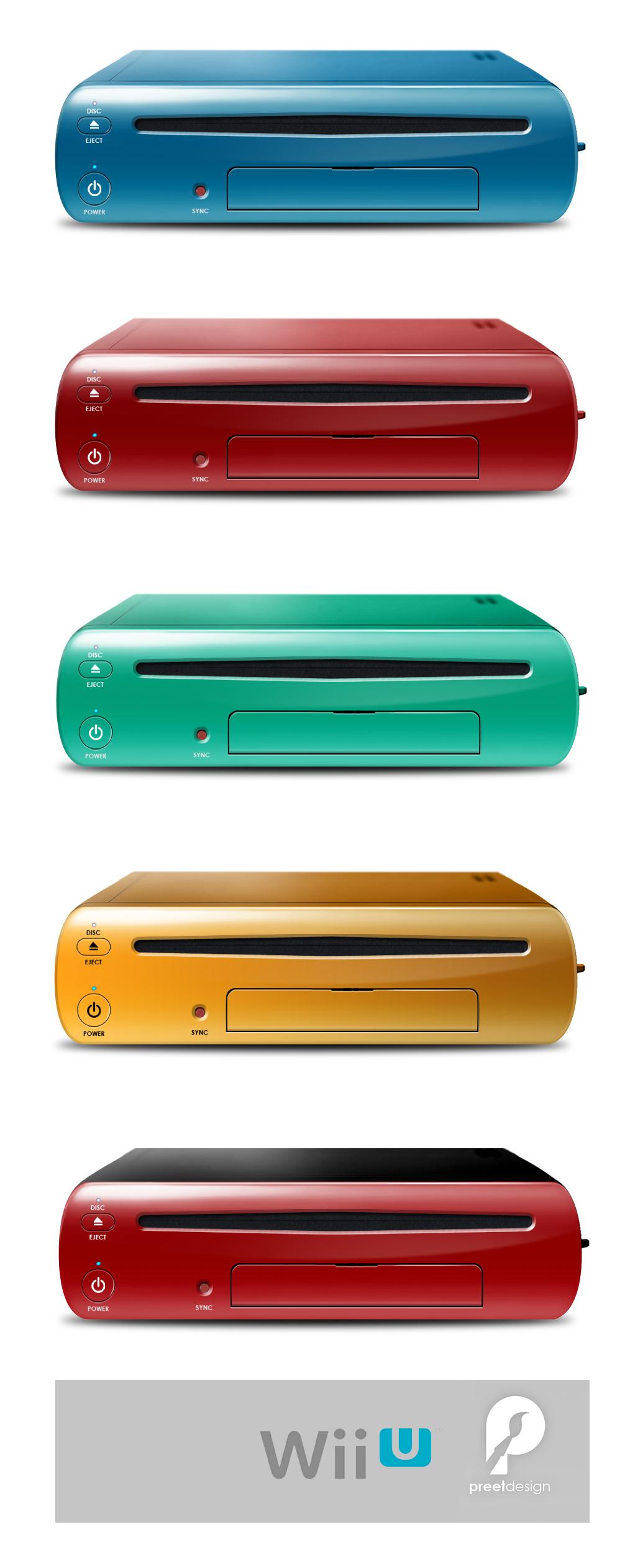 Wii U Colors by preetard
