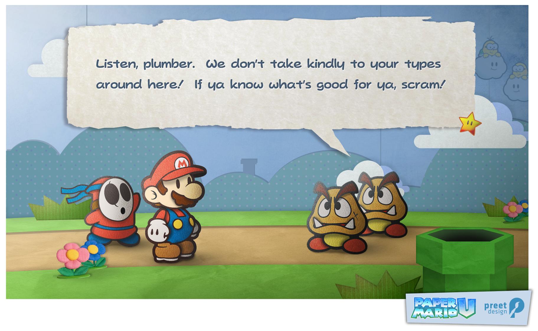 Custom Paper Mario Wii U Screenshot   General Wii U Forum  Wii U rrZIldRT
