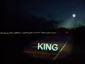 Spotlight on the King