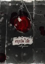 American Gods alternative Book Cover by sklaera