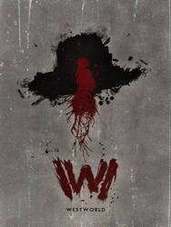 Westworld Minimalist Poster by sklaera