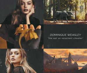 Dominique Weasley Aesthetic by sklaera