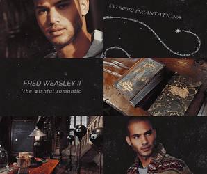 Fred Weasley II Aesthetic by sklaera