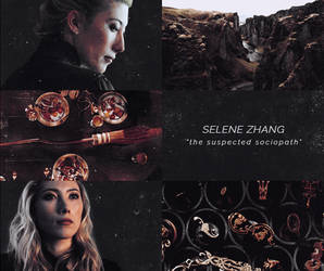 Selene Zhang Aesthetic by sklaera