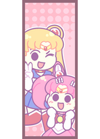 Sailor Moon Bookmark by BonbonBox