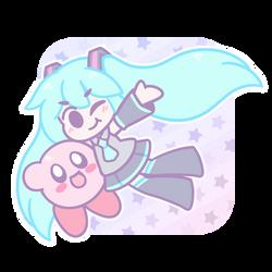 Miku Kirby by BonbonBox