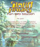 Storm Hawks Fan 3rd Season Announcement by 123leyang321