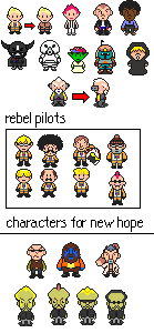 Star Wars 5 Mother 3 Sprites By Garageman45 On Deviantart