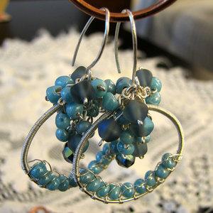 Bluet Earrings by Astukee by artinwonderland-club