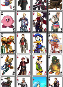 Custom Playing Card Set 1 by Ansem87